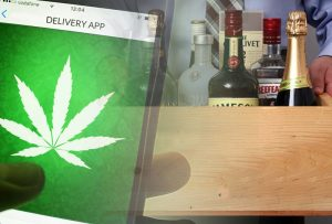 cannabis delivery alcohol delivery