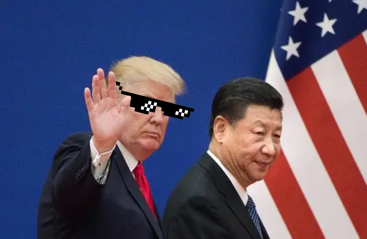 trump like a boss china