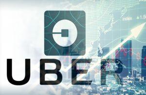 Uber stock price