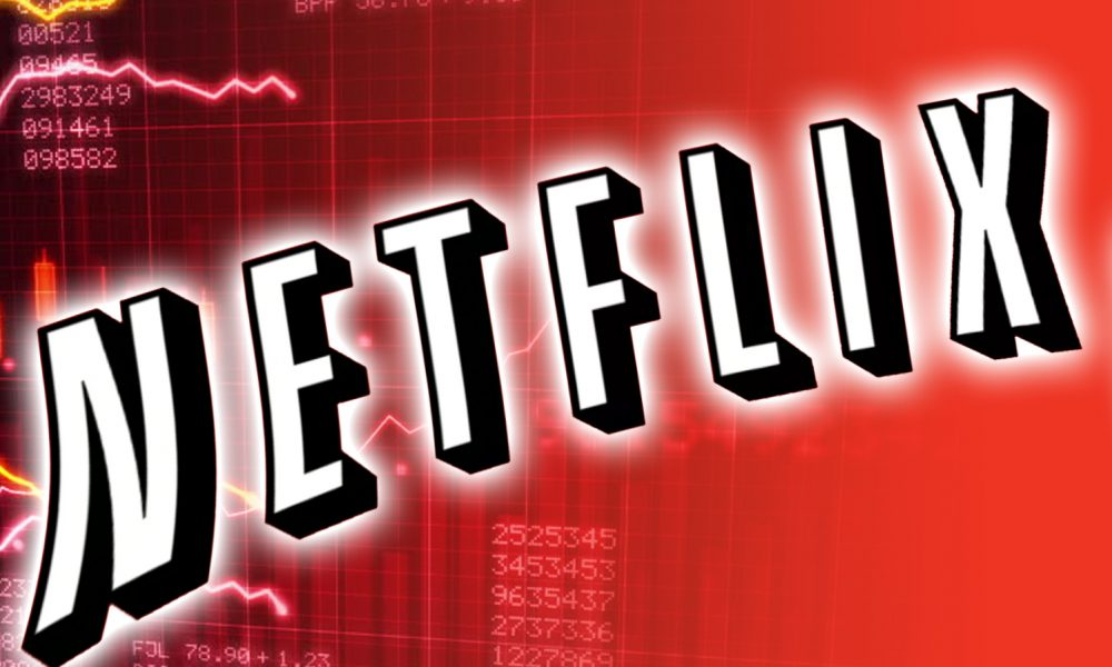 netflix  nflx  stock price declines as competition intensifies