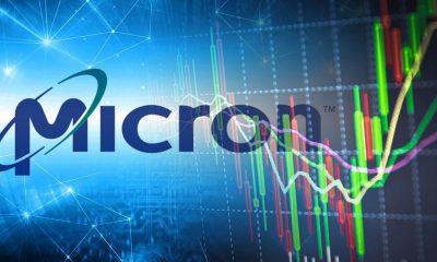 micron stock price