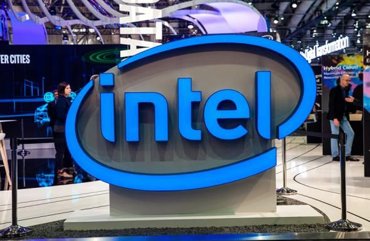Intel stock price INTC