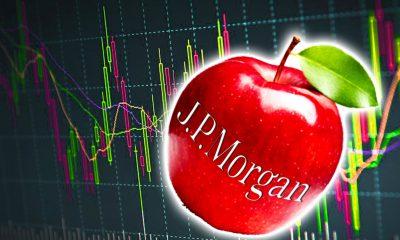 aapl stock price JP Morgan