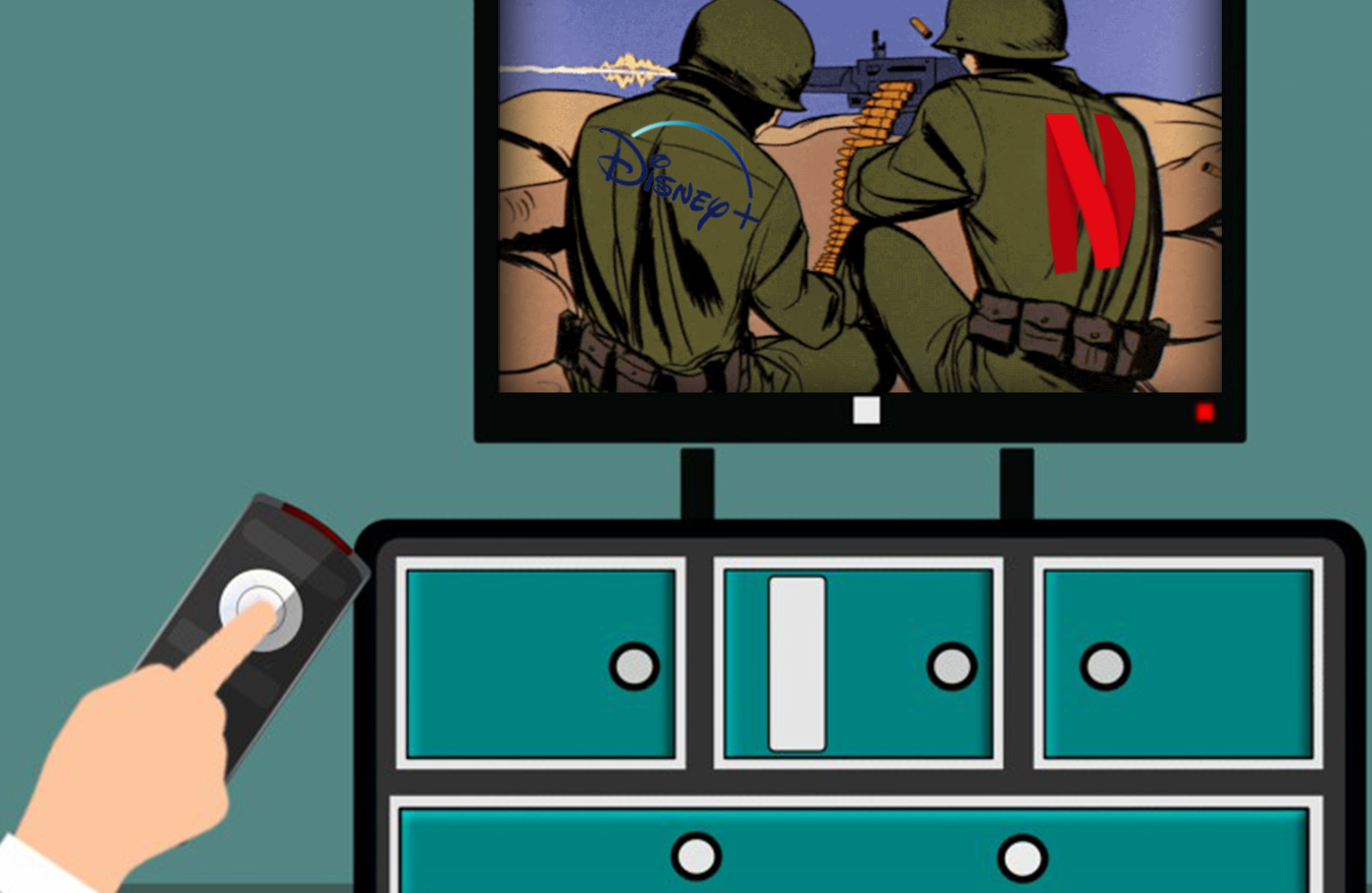 streaming war stocks to watch