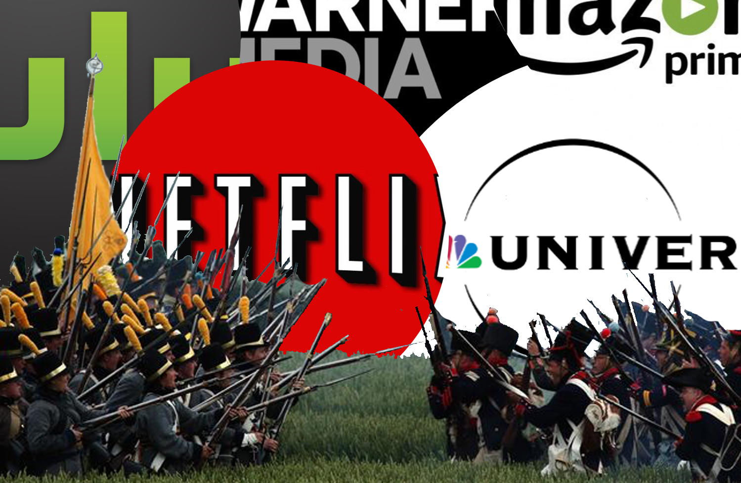 streaming wars netflix apple hulu disney
